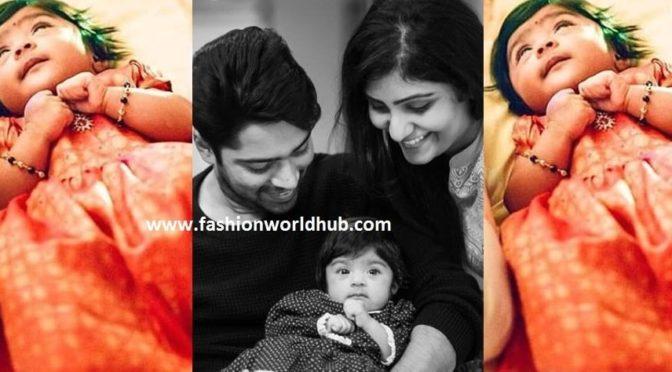 Allari naresh & virupa named their baby name as……