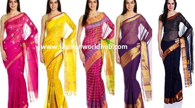 Handloom sarees buy online -Rs 899
