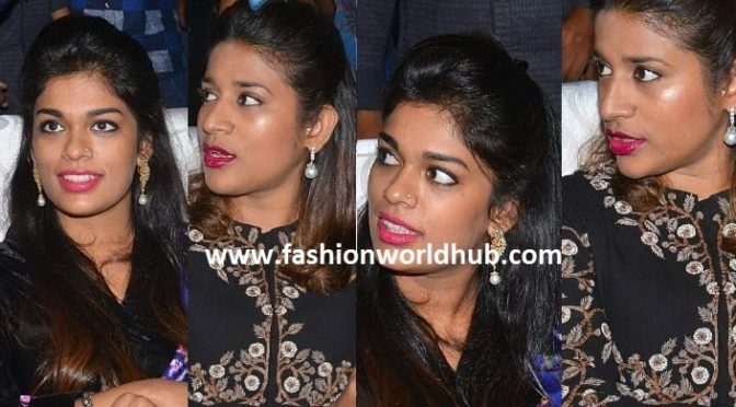Chiru daughters at khaidi150 Pre release function!
