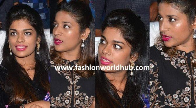 Chiru daughters at khaidi150 Pre release function!