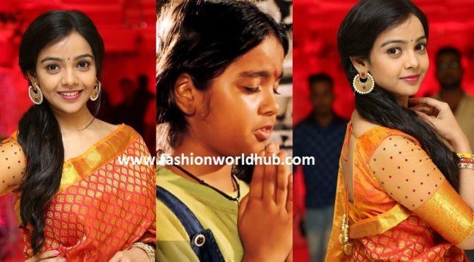 Devullu fame Nithya Shetty in Beautiful saree!