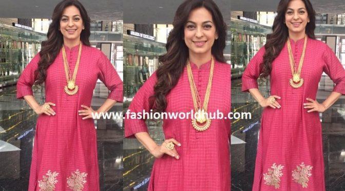 Juhi Chawla in beautiful outfit!