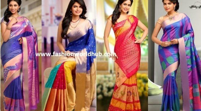 Pure kanchipuram sarees ~Fashionworldhub~