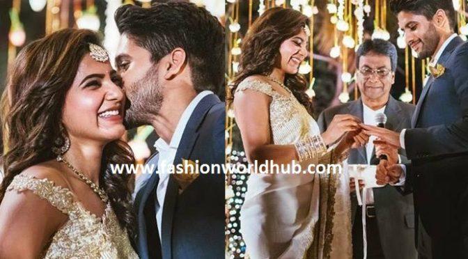 Samantha & Naga Chaitanya Engagement Photos!