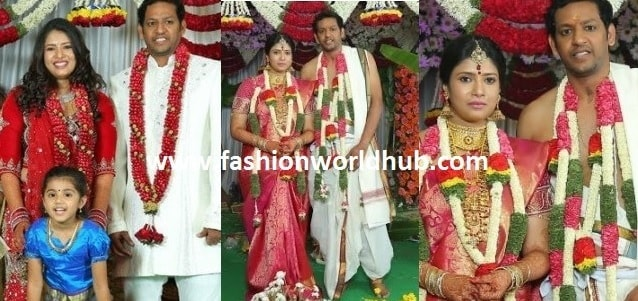 Rare photos of Actress Sanghavi Wedding photos!