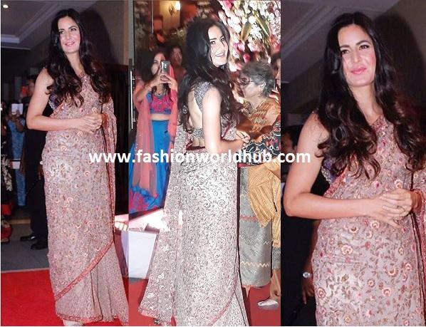 Katrina kaif-Floral saree