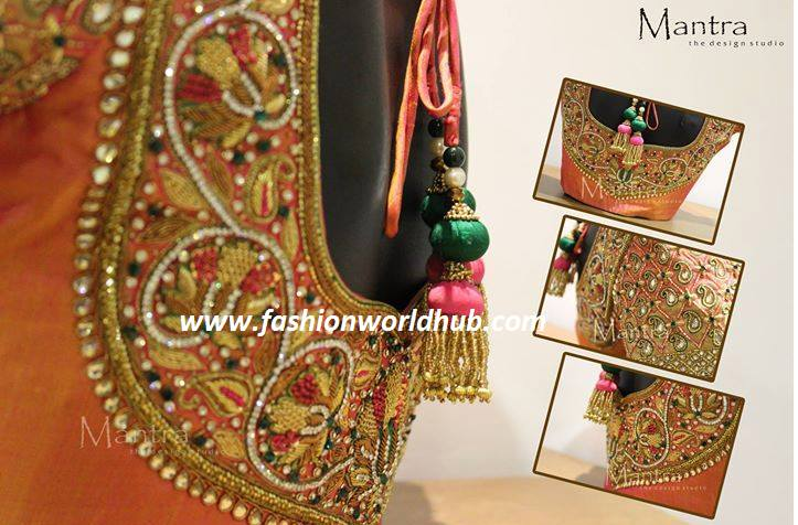 Maggam Work Blouse Designs : 21 Latest Work Blouses