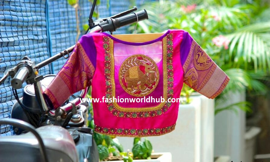 Maggam work blouses