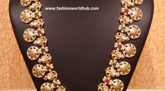 Gold Kasulaperu designs & Long chains  – Naj Jewellers