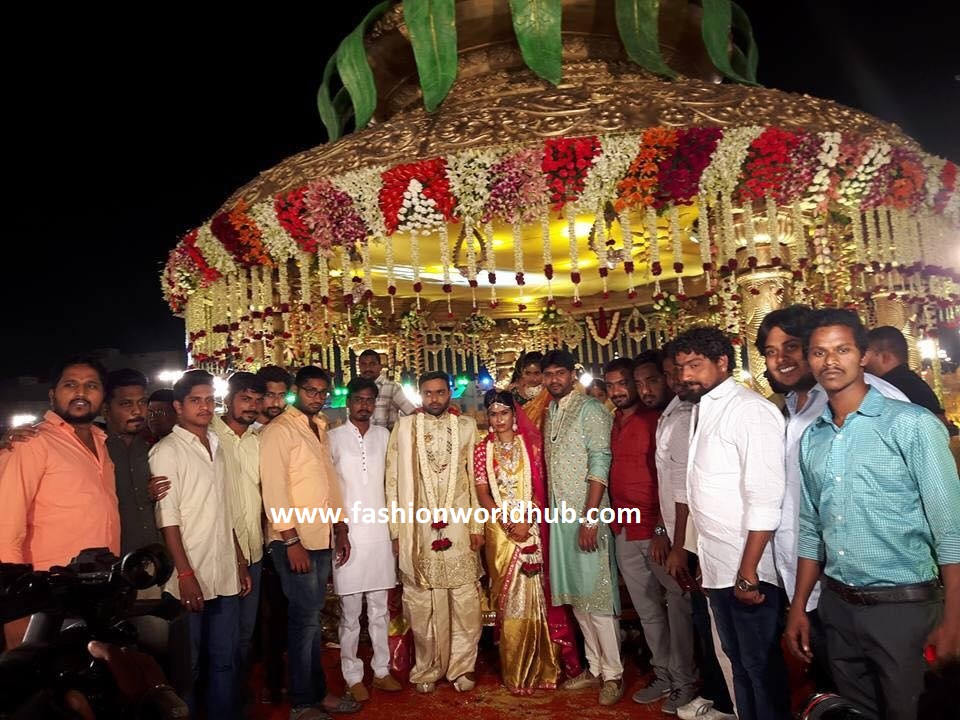 Talasani srinivas yadav wedding photos