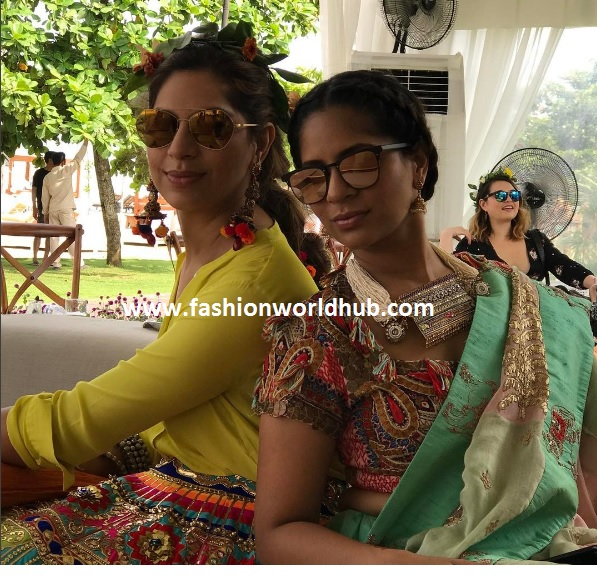 Upasana with her sister