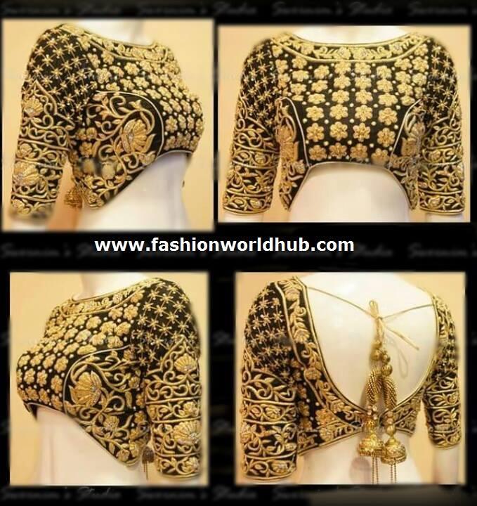 designer blouse 2