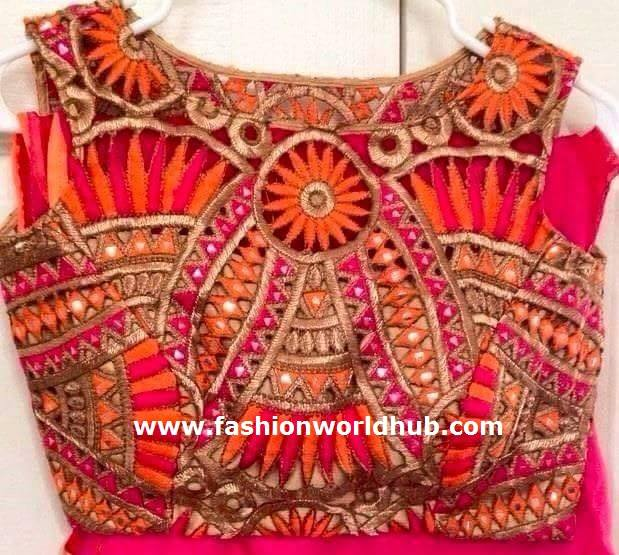 designer blouse 4