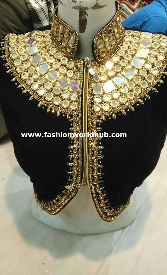 designer blouse 45