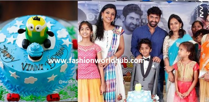 Sekhar Master Son Birthday celebration photos!