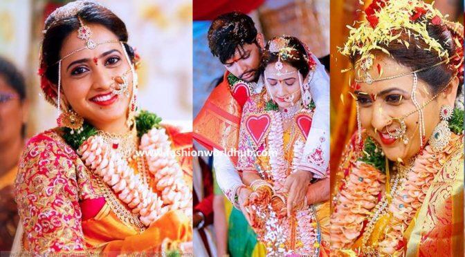 Anchor Lasya & manjunath Wedding photos ( Few more)