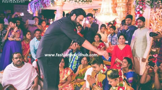 Celebrities at Director Radha krishna Wedding( jil movie director) !