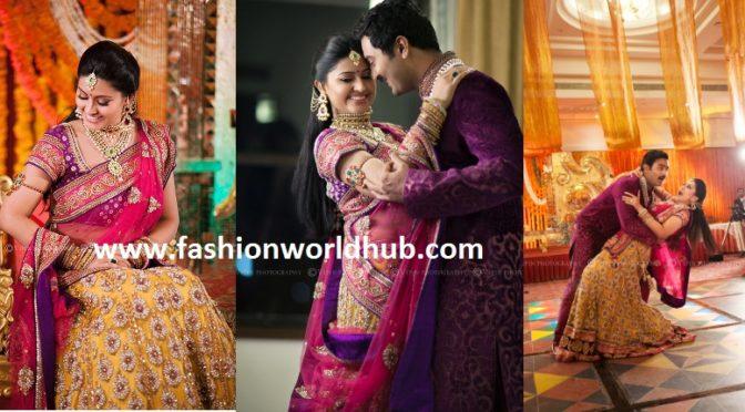 Sneha & Prasanna Perfect Matching outfit!