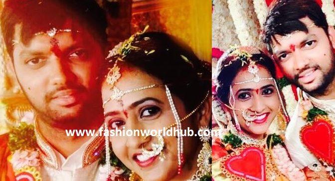 Anchor Lasya & Manjunath Wedding photos!