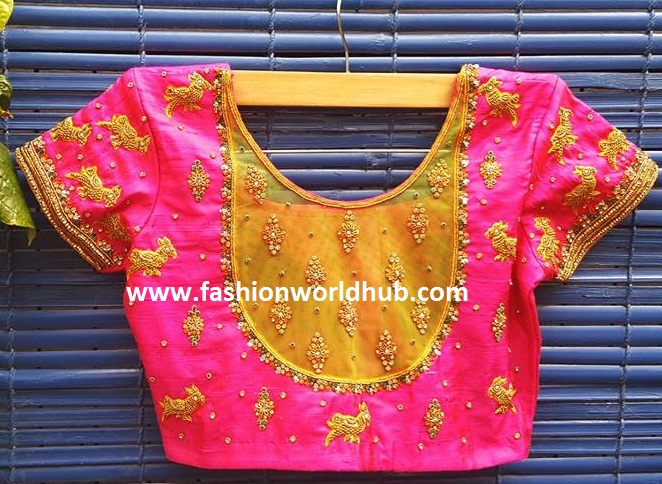 maggam work blouse 2
