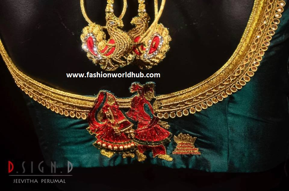 maggam work blouses 2017
