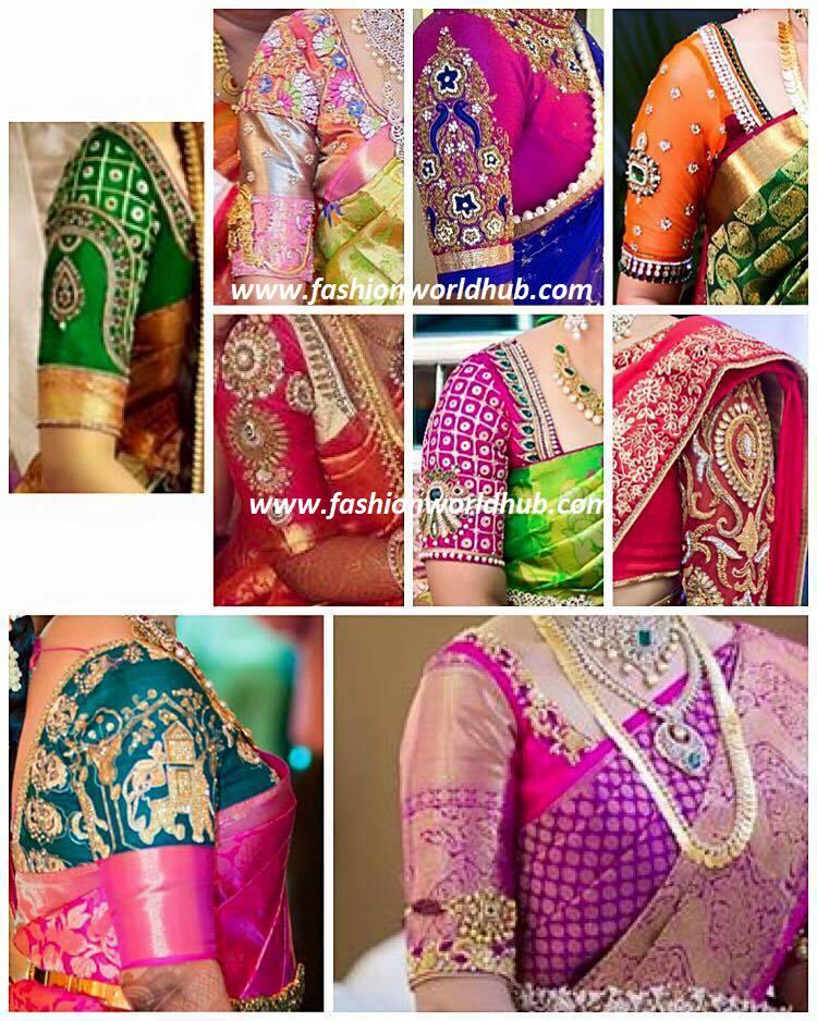 Blouse Designs For Chiffon Sarees