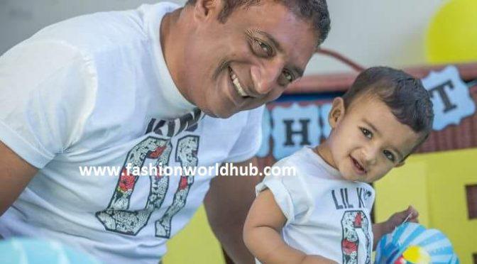 """Prakash Raj son turned """"1 year"""" today!"""