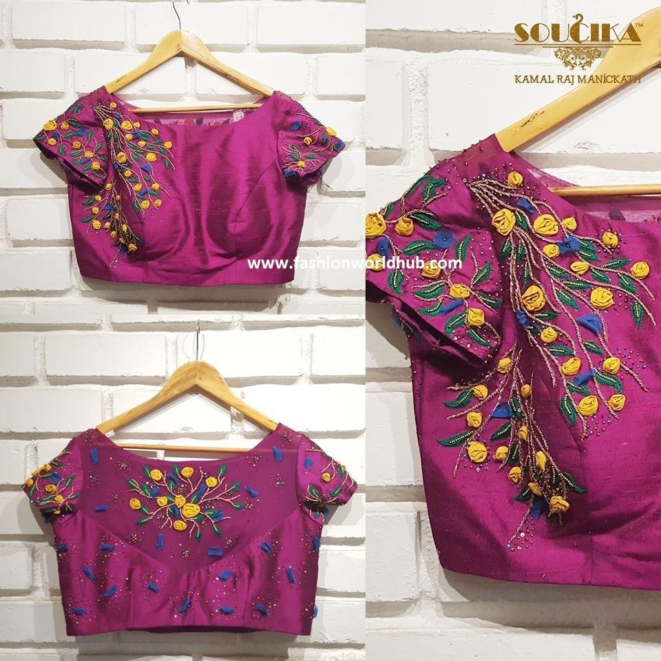 9fashionworldhub-blouse designs
