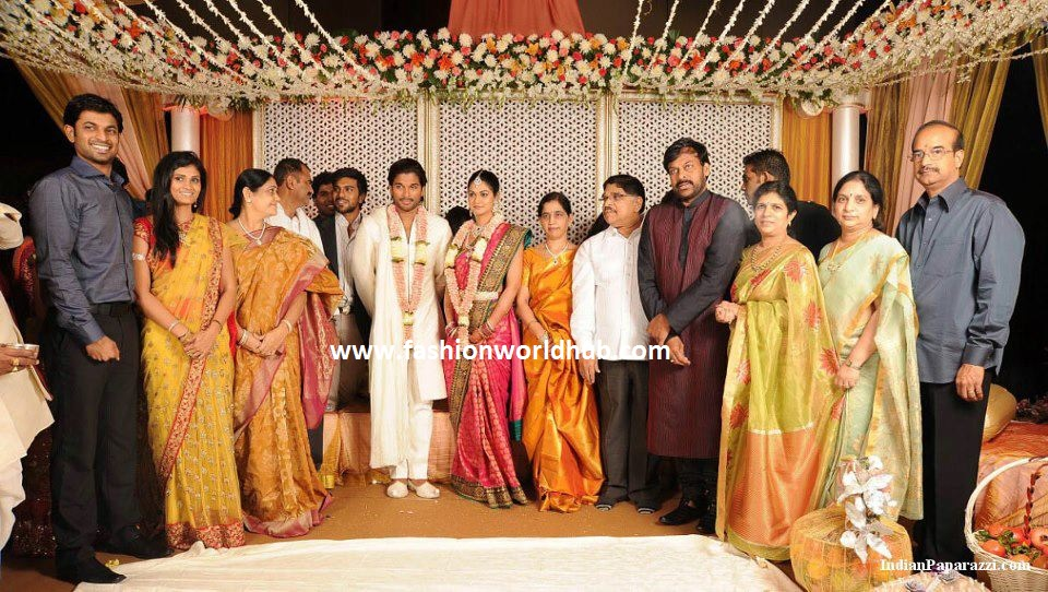 allu arjun engagement photo
