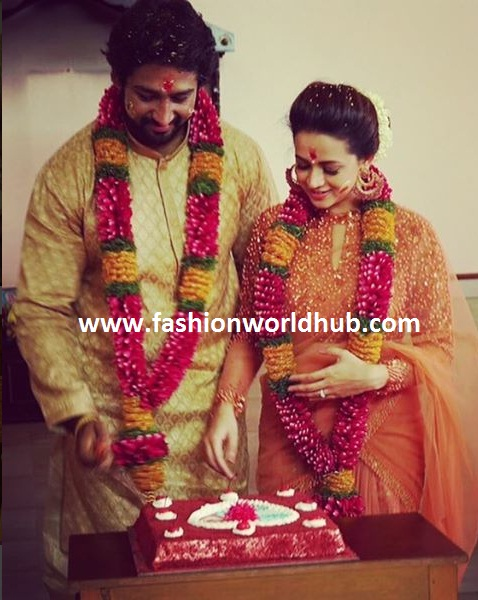 bhavana engagement photos