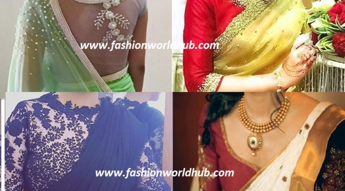 Amazing blouse designs by Pranaah