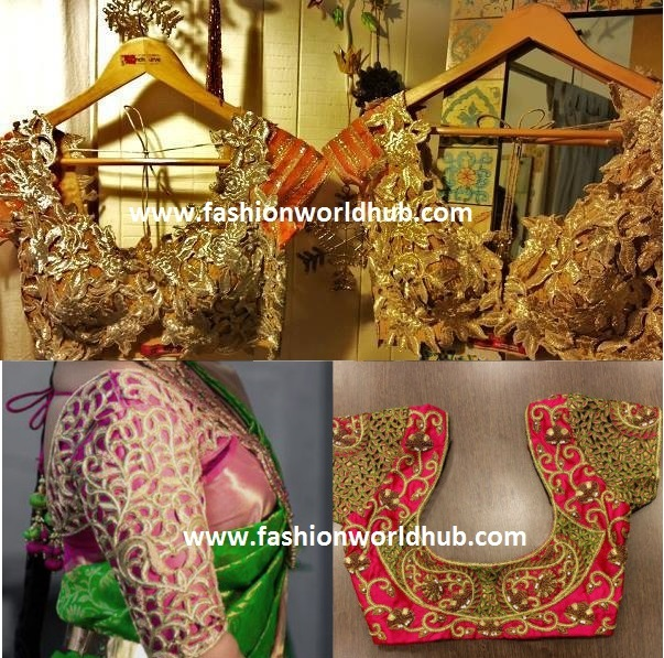cut work blouses2