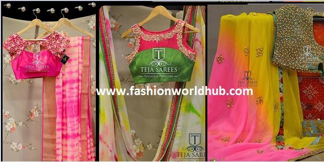 Latest designer sarees & blouses – Teja Ethnic studio