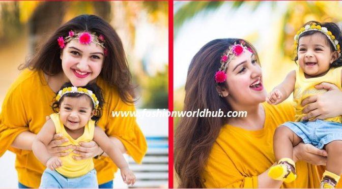 Adorable photos of Sridevi Vijaykumar baby rupika photos!