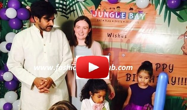 Birthday video of Pawan kalyan & Anna Lezhneva daughter Polena!