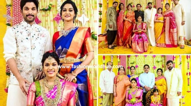 chiranjeevi daughter srija's Pellikuthuru function