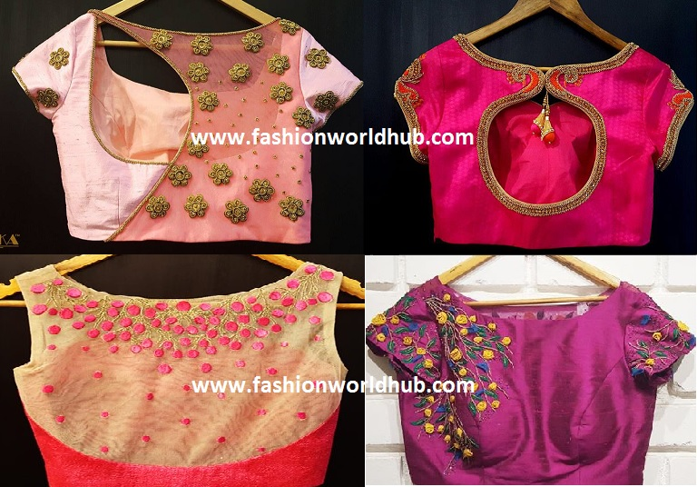 fashionworldhub-blouse designs