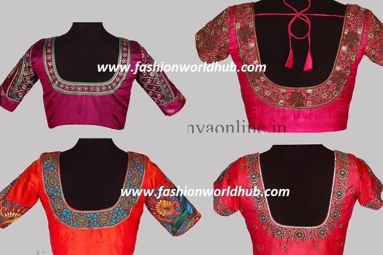 fashionworldhub-blouse patterns