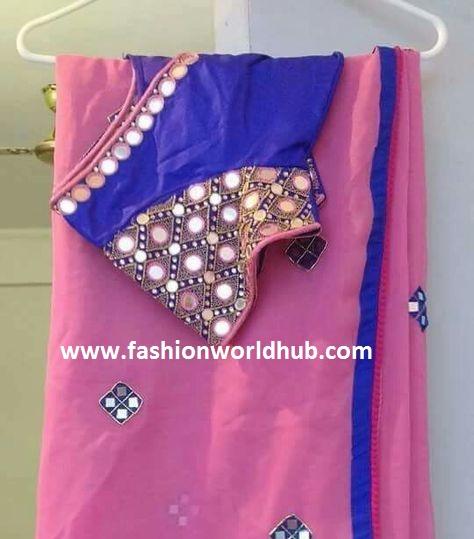 fashionworldhub-fmirror work blouses