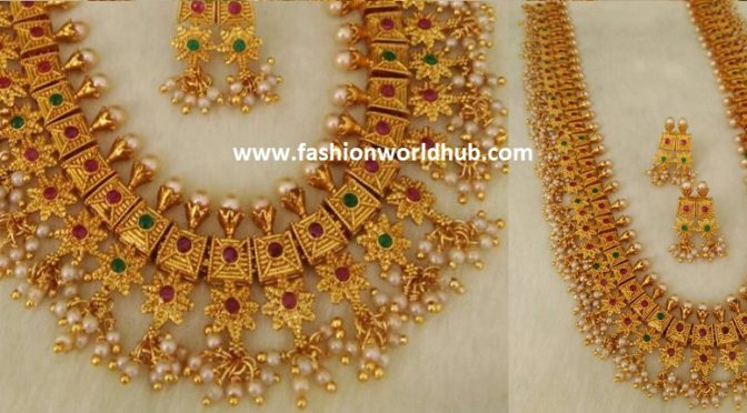 One gram gold Guttapusala Haram – INR 2850 RS