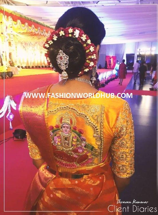 goddess lakshmi devi blouse