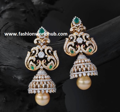 gold ear rings-fashionworldhub1