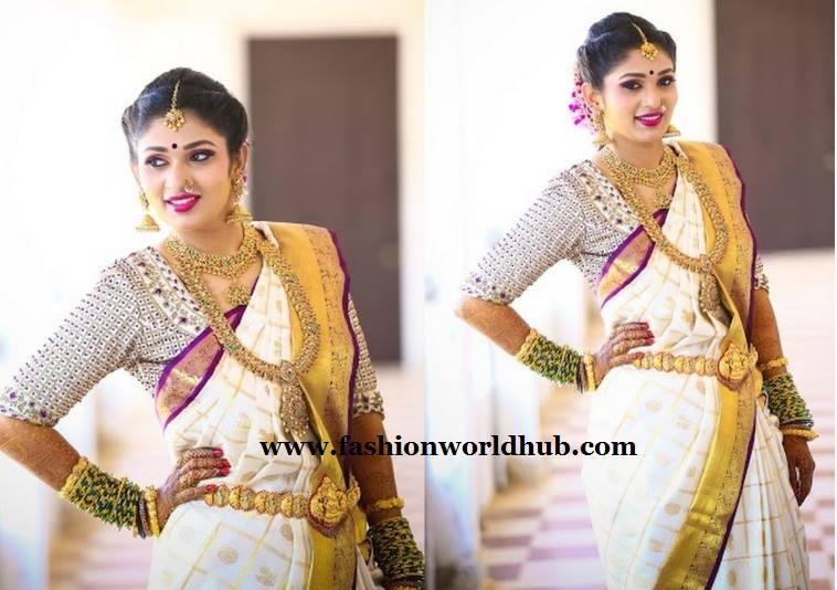 kanchipuram sarees fashionworldhub1
