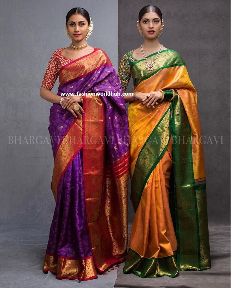 kanchipuram sarees fashionworldhub3