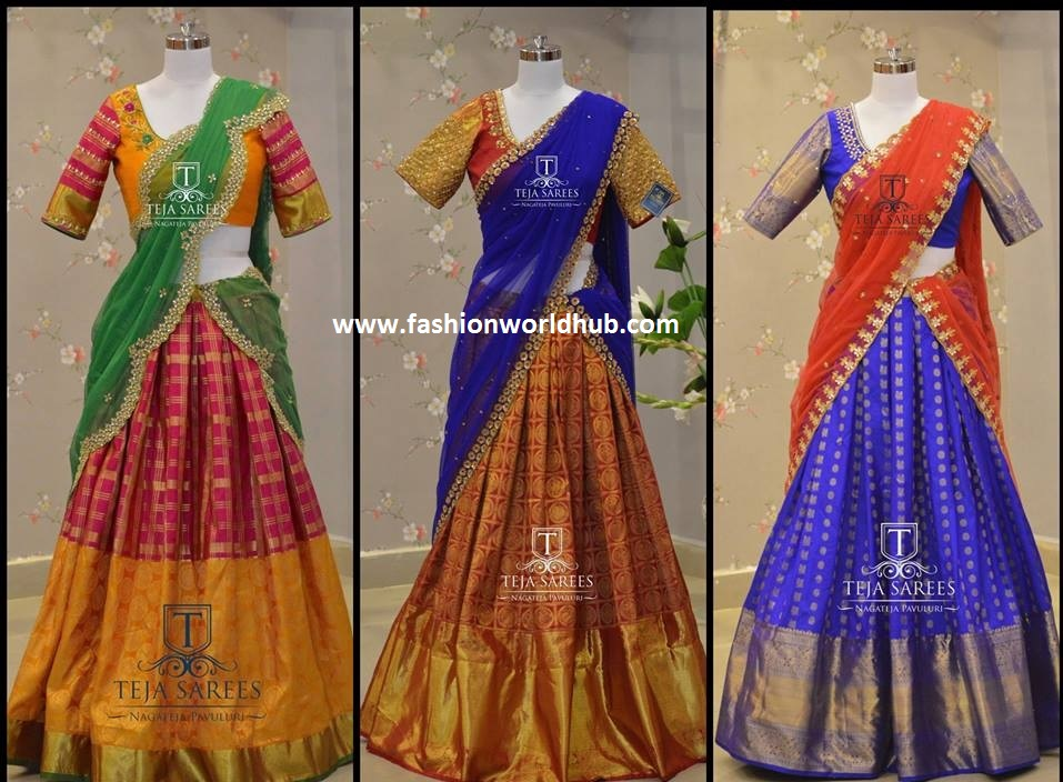 kanjeevaram lehanga designs