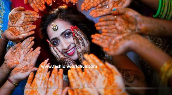 Anchor Lasya and Manjunath Mehandi & Sangeet photos!