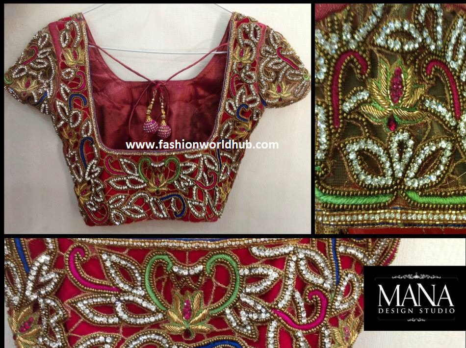 maggam work blouses 2