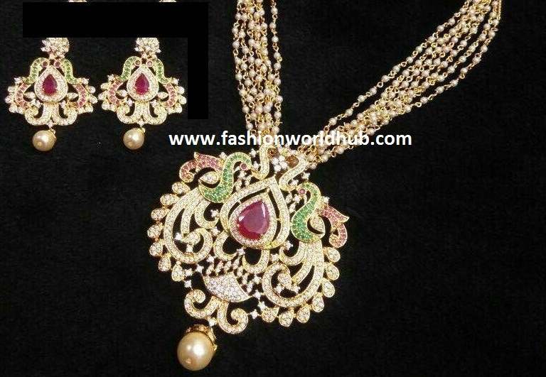 1 gram gold jewellery with price fashionworldhub one gram gold necklace inr 2500 rs aloadofball Images