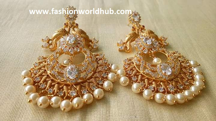 Top 5 beautiful e gram gold earrings Latest designs 2017