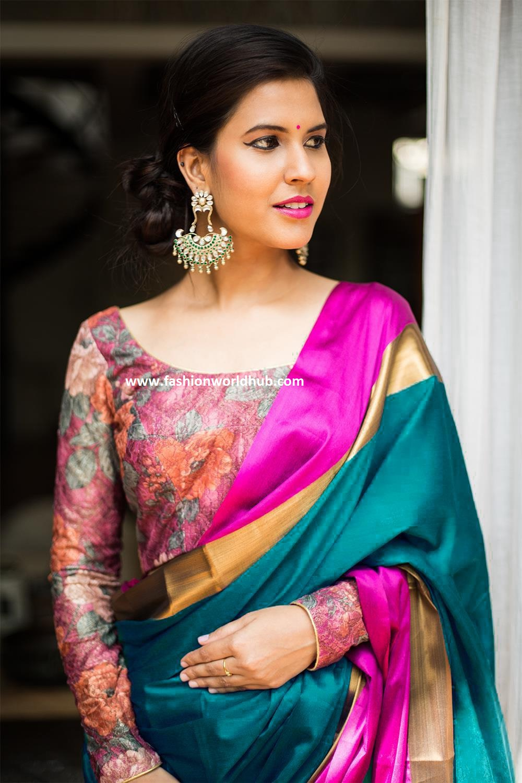 saree and blouse designs fashionworldhub